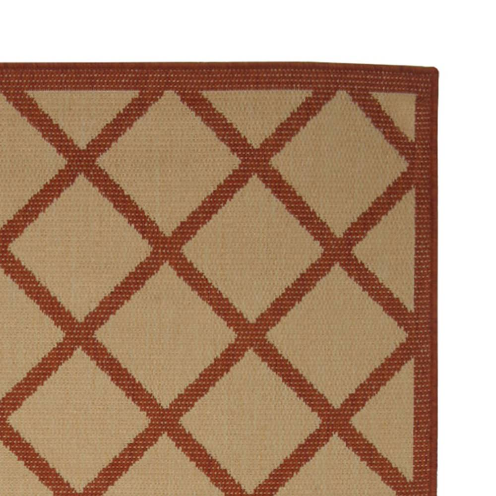 Hammock Coast Terra Cotta - Pawleys Island Porch Rug