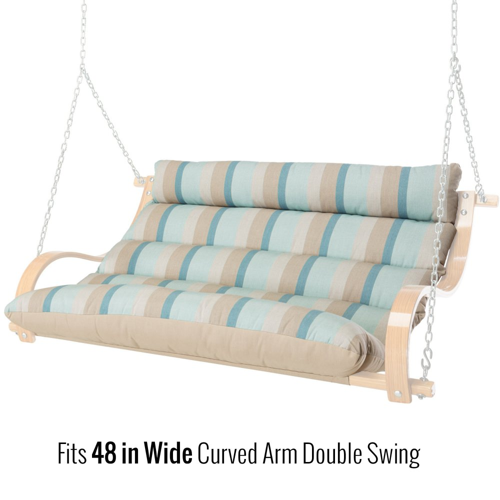 39 Inch Replacement Cushion for 48 Inch Curved Arm Double Swing