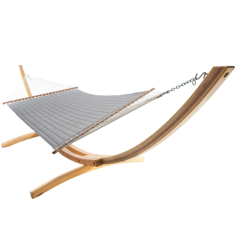 Spectrum Dove Quilted Hammock