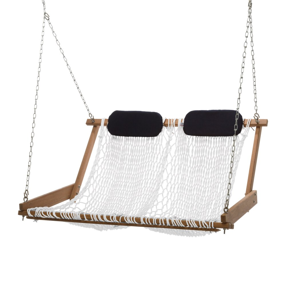 Original Cumaru Rope Porch Swing