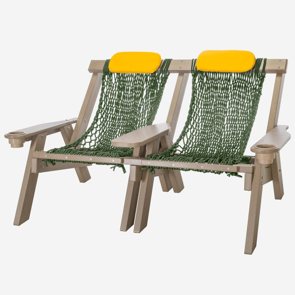 Weatherwood Durawood Double Rope Chair