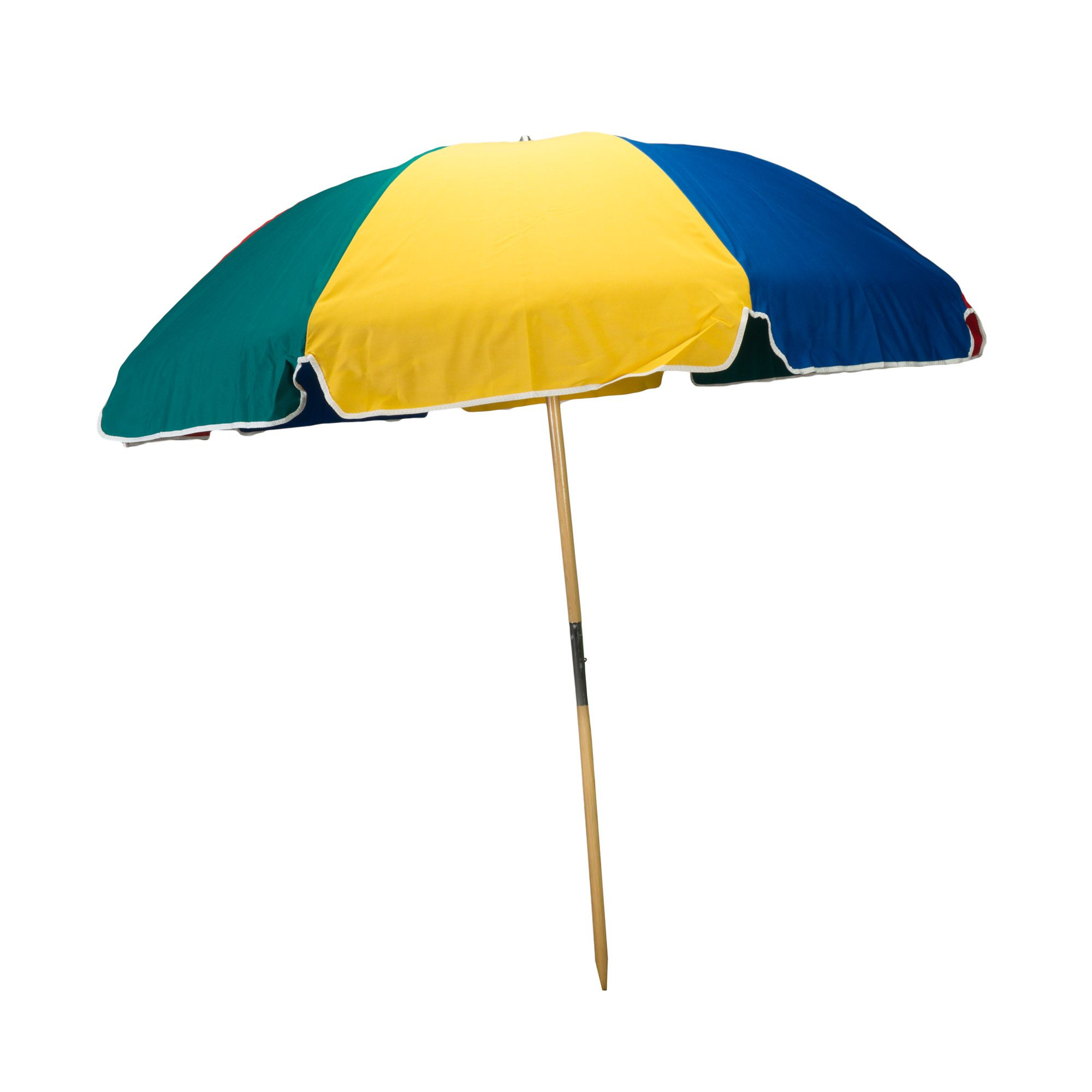 Beach Umbrella with Wood Pole | Frankford Umbrellas | SKU: UMB-K | Umbrellas