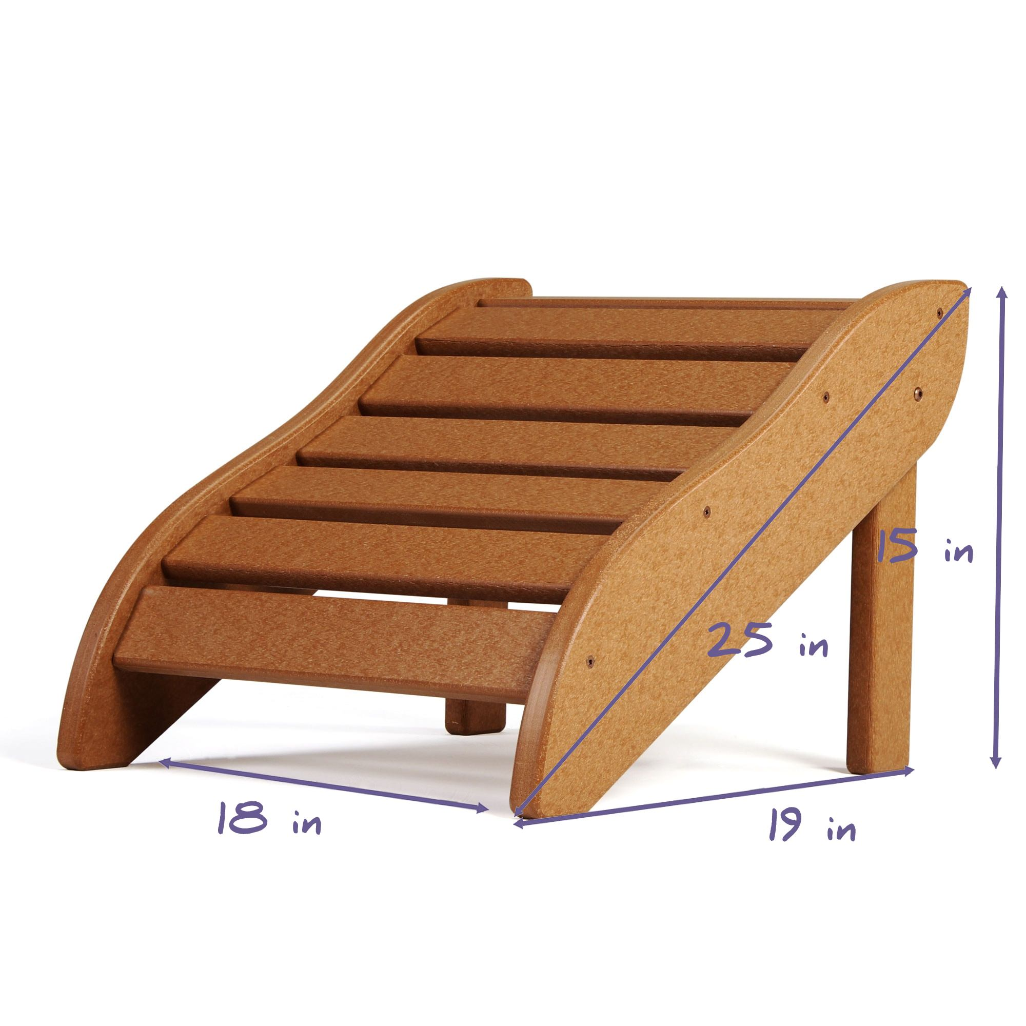Lifetime Essentials Adirondack Chair Footrest on Sale