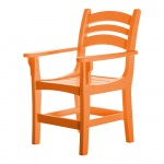 Casual Dining Chair with Arms