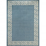 Blue and Champagne Waves - Pawleys Island Porch Rug
