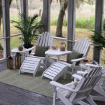 Palmetto Stripe Green - Pawleys Island Porch Rug