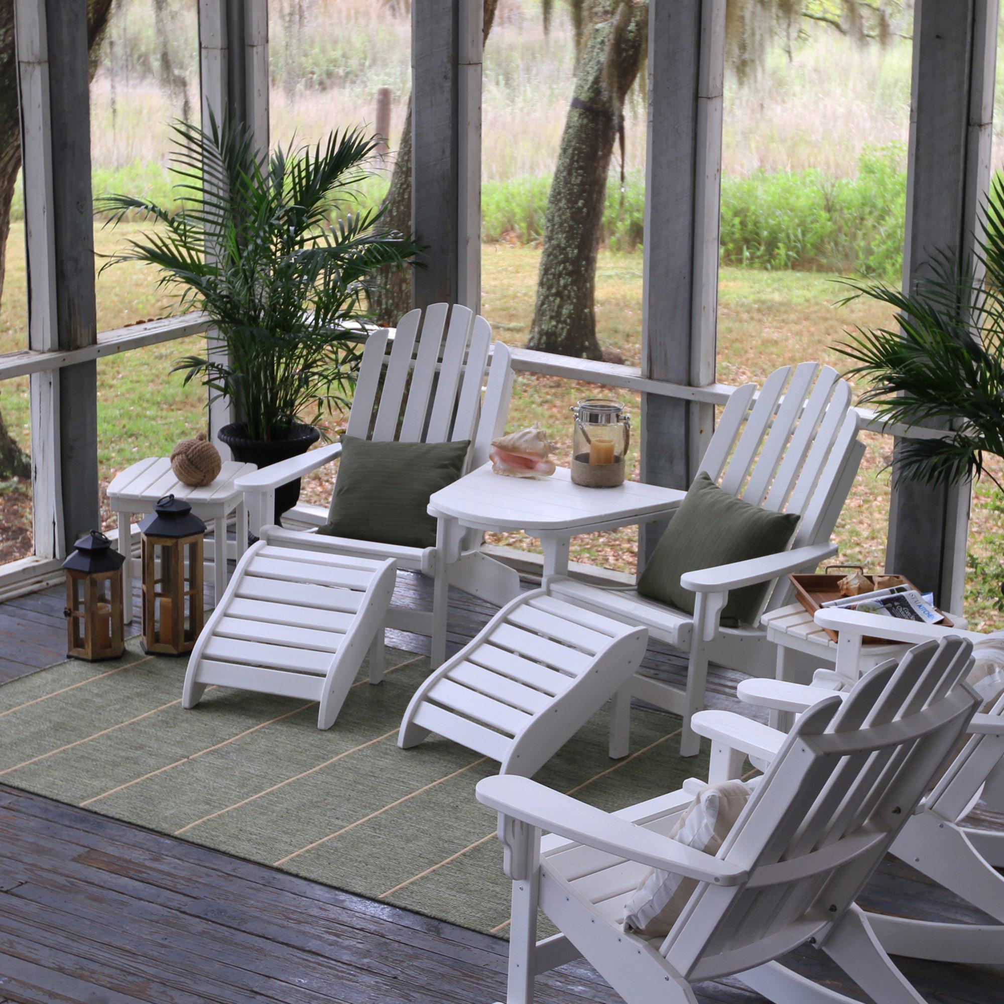 Palmetto Stripe Green Outdoor Rug By Pawleys Island