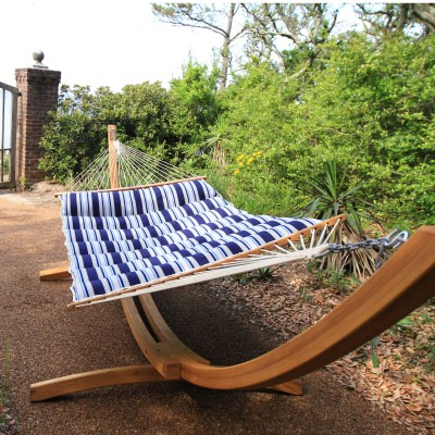 Hampton Summer Stripe Pillowtop Hammock