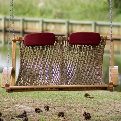 Bent Oak Rope Porch Swing Instruction