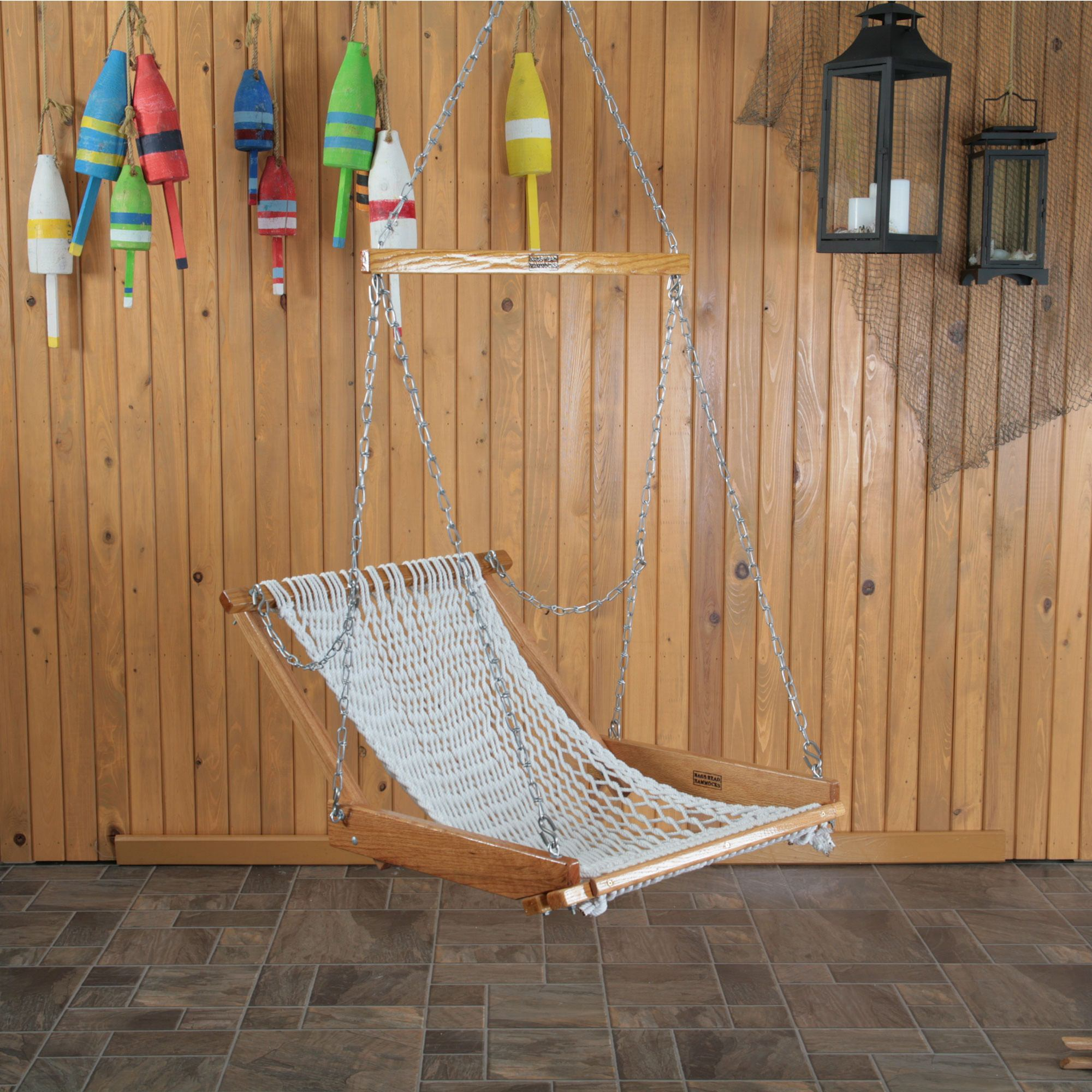resin pad with bay seat benestuff swinging com wicker hammock swing fresh island saria design single chair