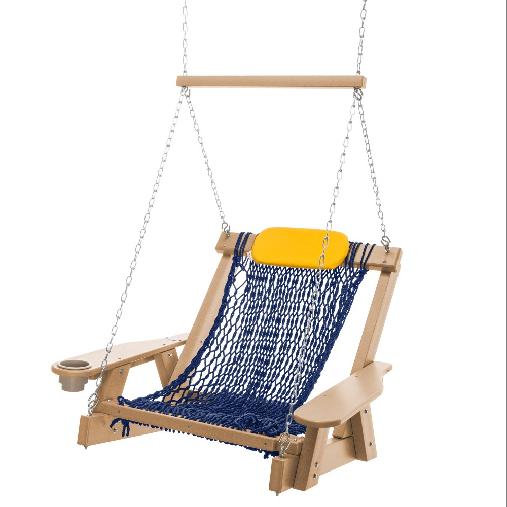 single rope hammock swing Hammocks and swings 165 likes shop for all varieties of hammocks, hammock chairs, hammock swings, hammock stand single person 36''wide cotton rope hammock.