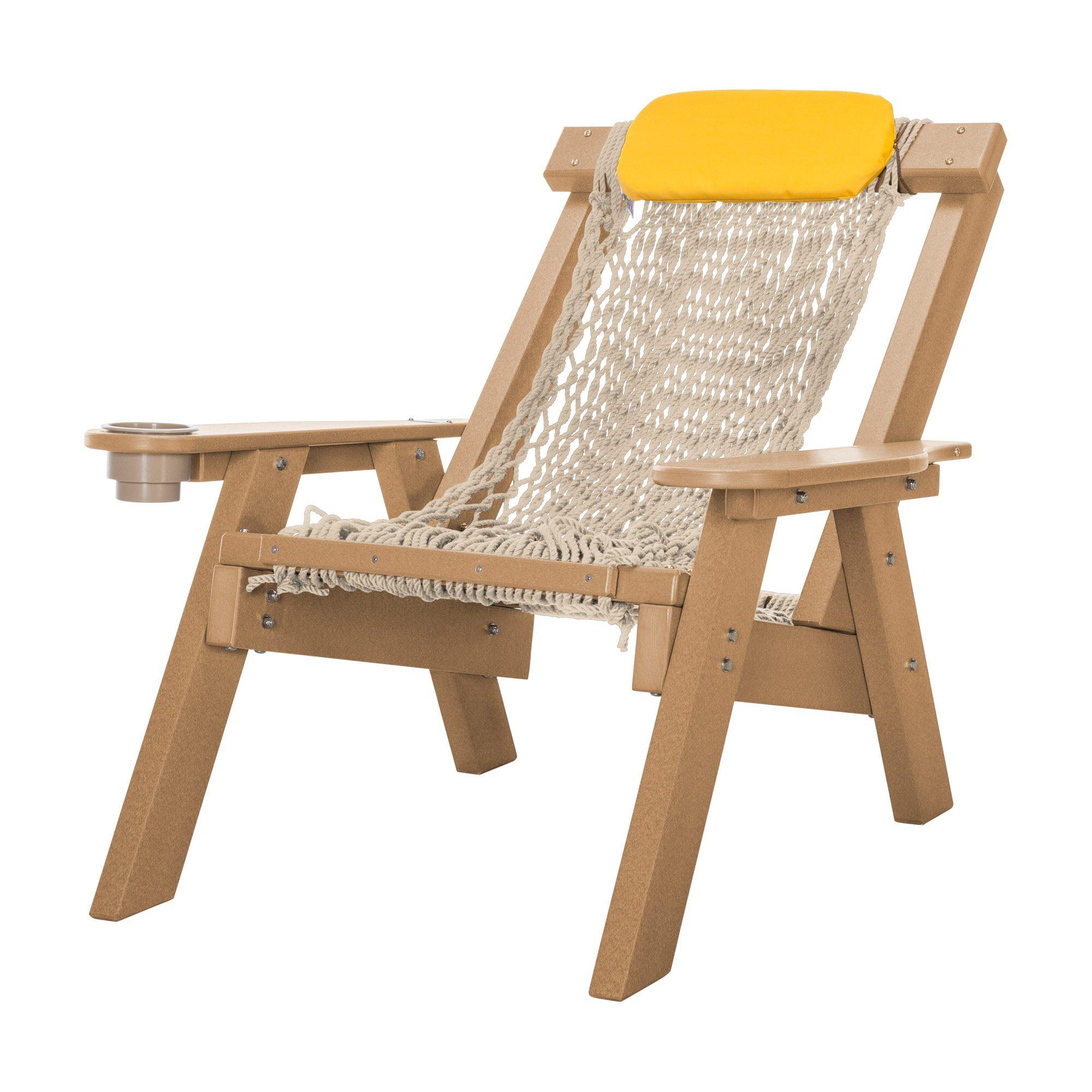 Cedar durawood single rope chair