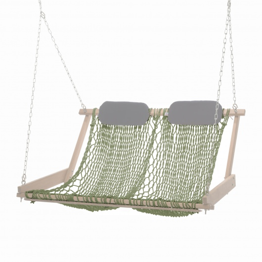 Cumaru Double Swing Rope Seat Replacement