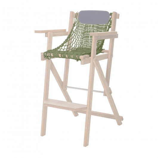 Cumaru Barstool Rope Seat Replacement