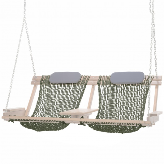Cumaru Deluxe Swing Rope Seat Replacement