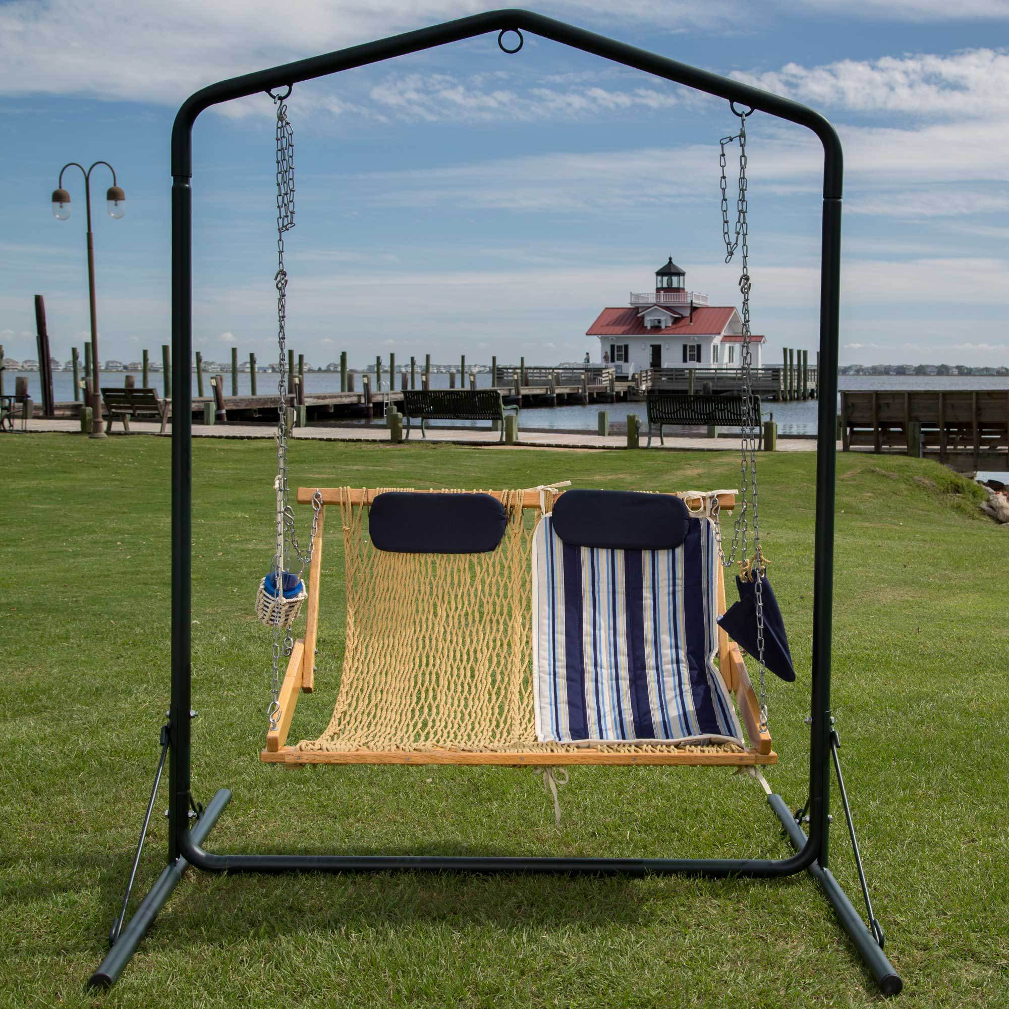 Metal Swing Stand Nags Head Hammocks Sku Swsl Furniture