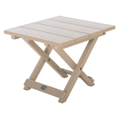 Durawood Folding Side Table
