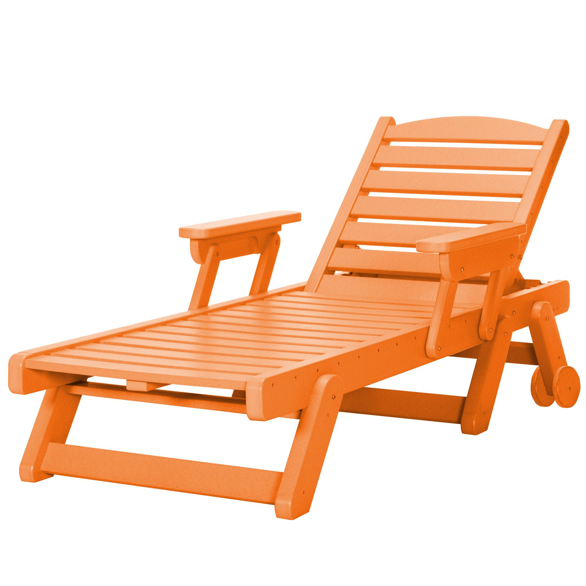chaise lounge - Chaise Orange