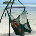 Forest Green Caribbean Swing