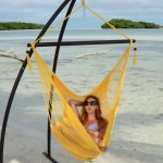 Sunshine Yellow Caribbean Swing