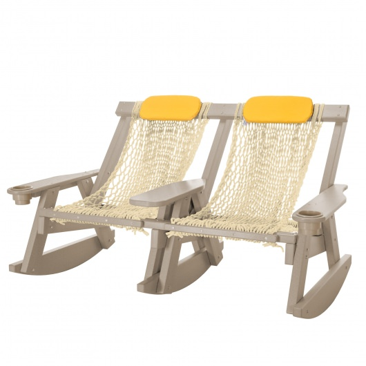 Weatherwood Durawood Double Rope Rocker