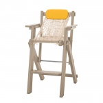 Weatherwood Durawood Folding Rope Barstool