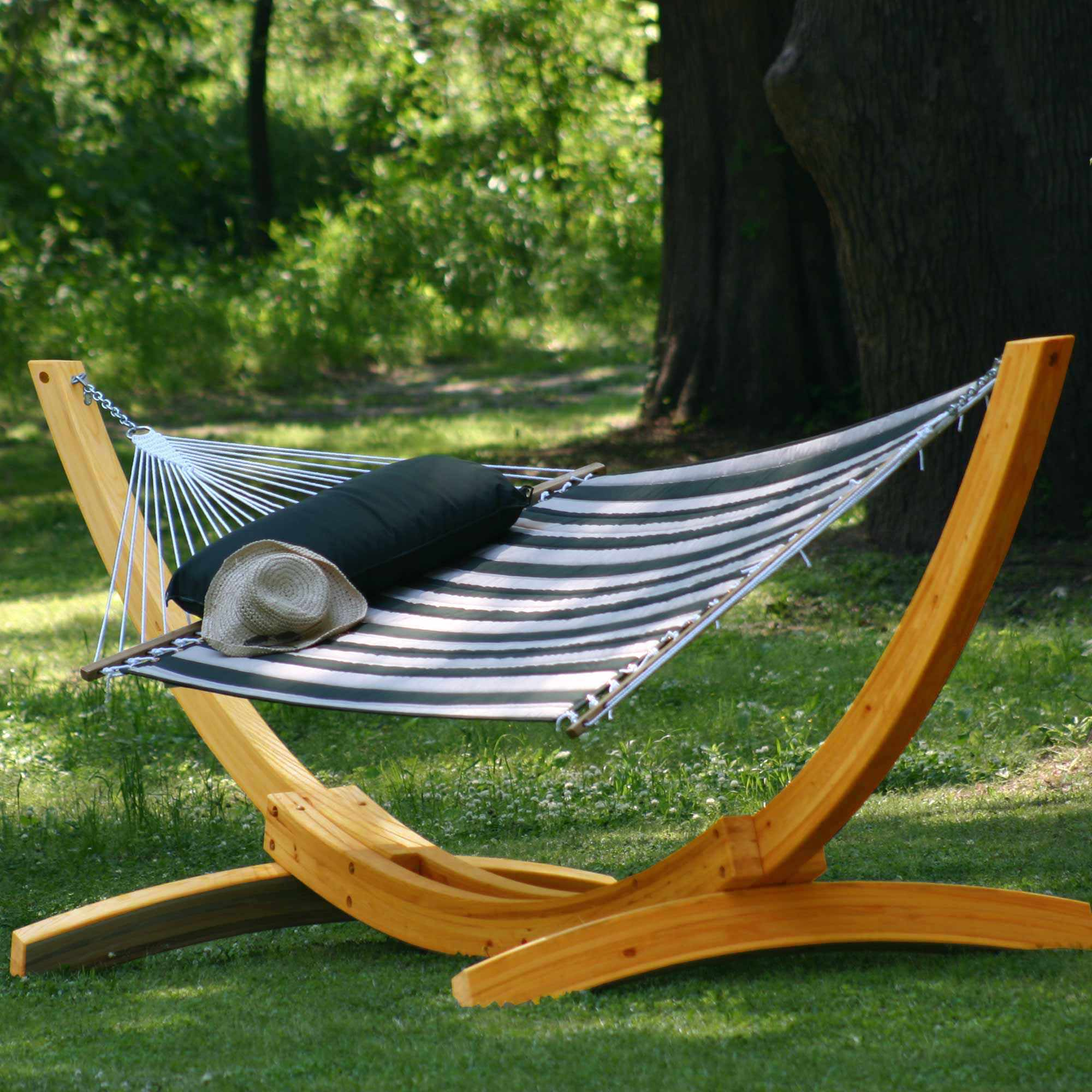 Deluxe Roman Arc Cypress Hammock Stand On Sale Sar