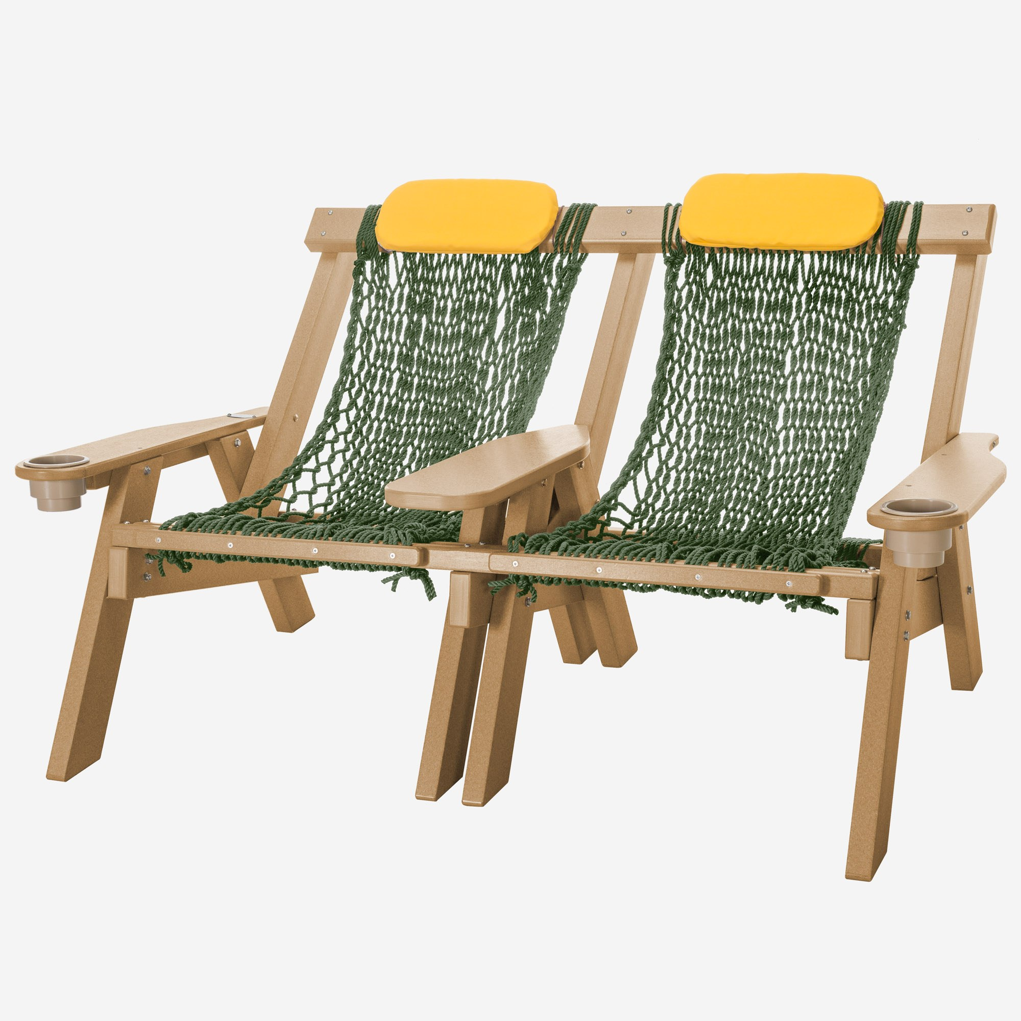 Cedar Durawood Double Rope Chair Nags Head Hammocks
