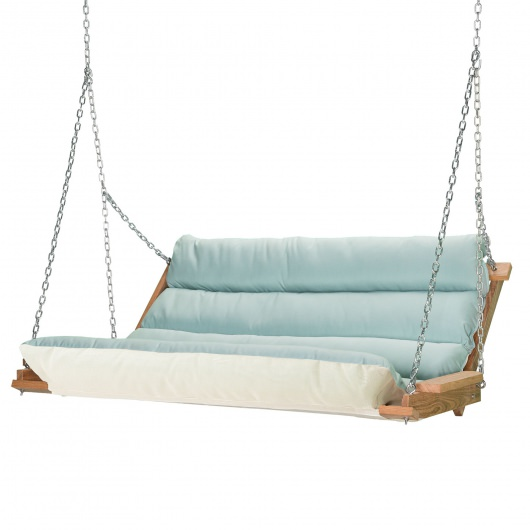 Spectrum Mist Cumaru Cushioned Double Swing