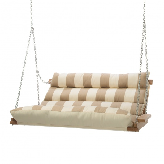 Regency Sand Cumaru Cushioned Double Swing
