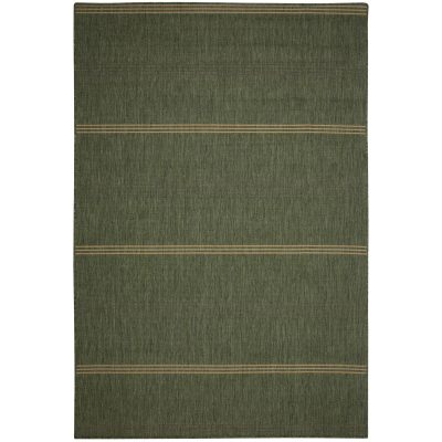 Islander Natural Green Porch Rug