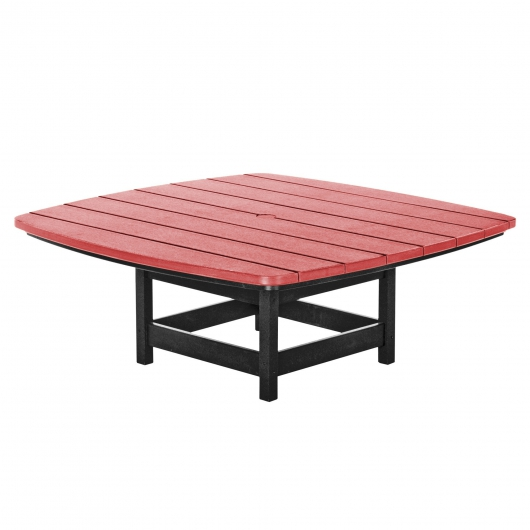 Black and Red Durawood Conversation Table