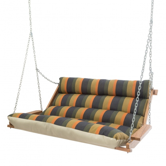 Gateway Aspen Cumaru Cushioned Double Swing