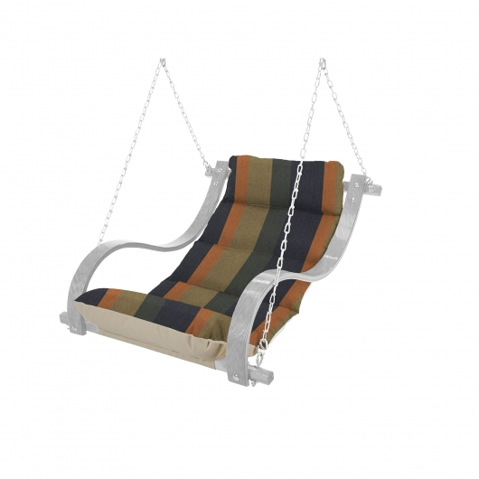 Single Swing with Curved Oak Arms Replacement Cushion