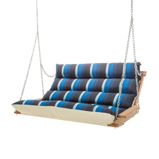 Gateway Indigo Cumaru Cushioned Double Swing