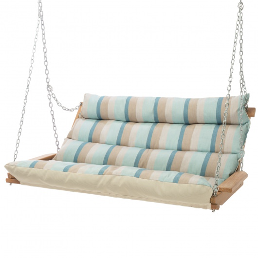 Gateway Mist Cumaru Cushioned Double Swing