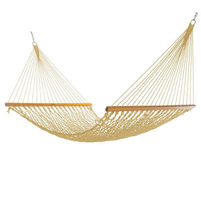 Double Tan DuraCord Rope Hammock