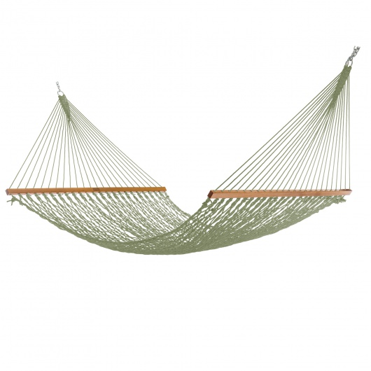 Extra-Wide Meadow DuraCord Rope Hammock