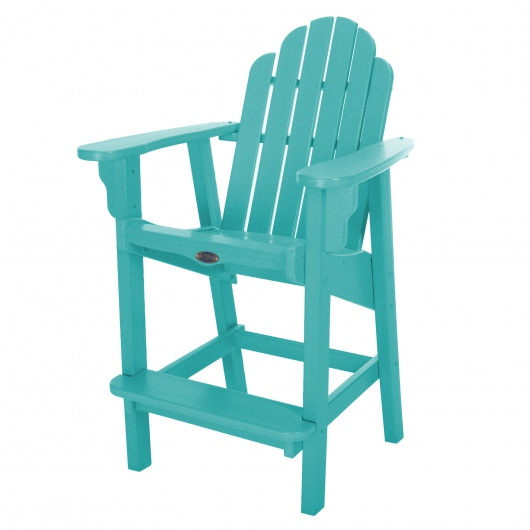 Classic Counter Height Chair - Turquoise