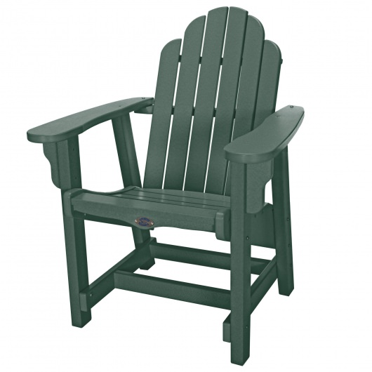 Classic Conversation Chair - Forest Green
