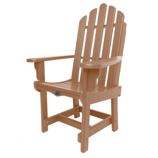 Classic Dining Chair with Arms - Cedar