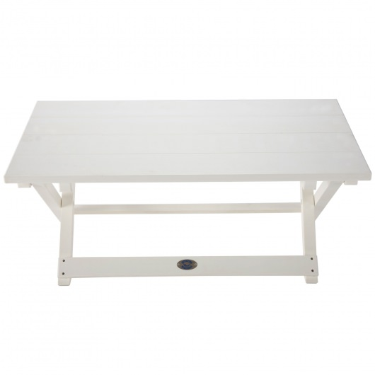 Durawood Folding Cocktail Table - White