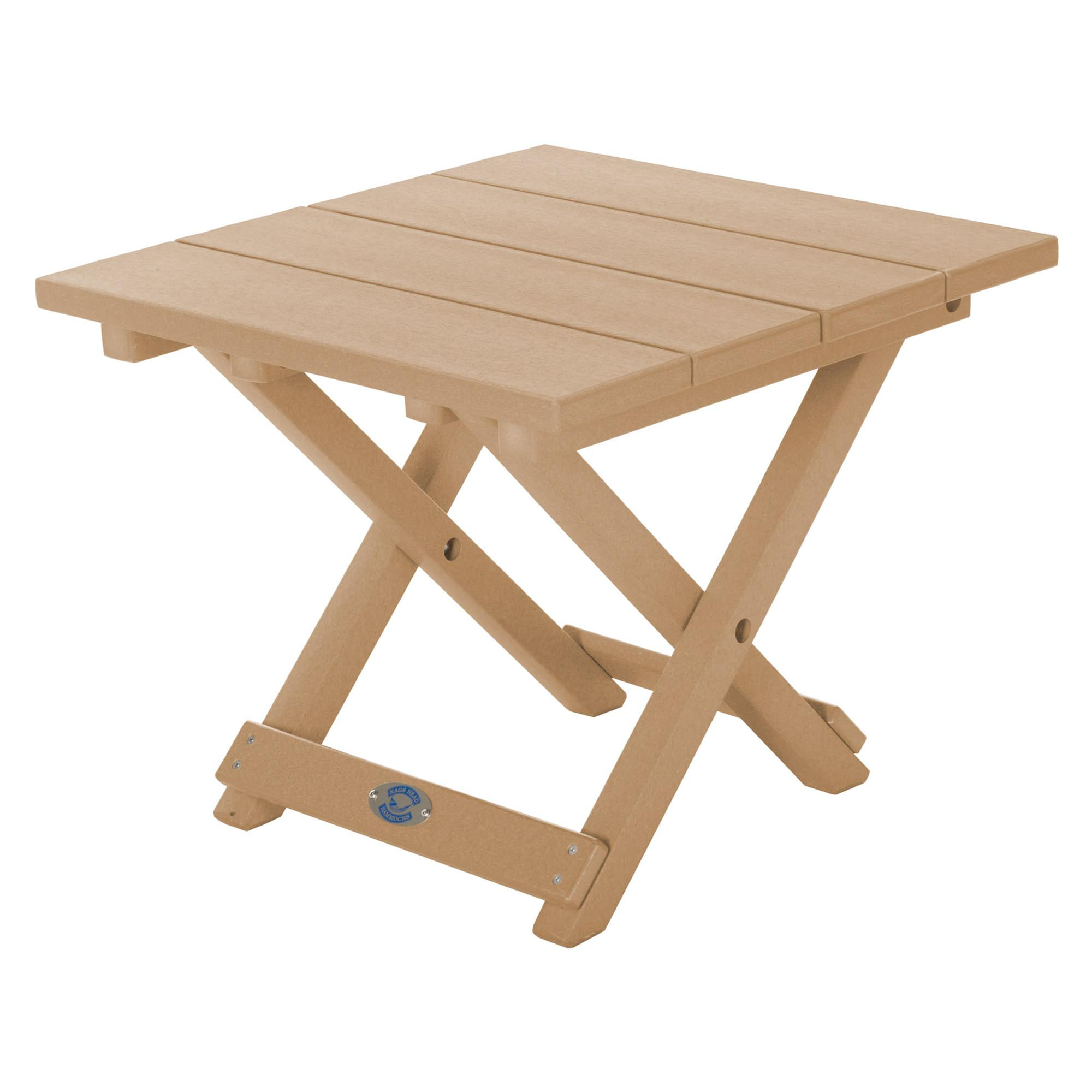 ... Durawood Folding Side Table ...