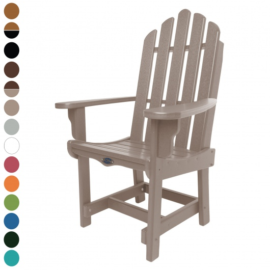 Classic Dining Chair with Arms