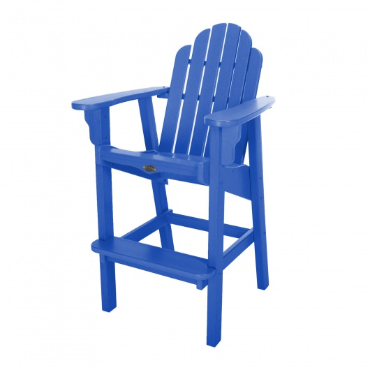 Classic Bar Height Chair - Blue