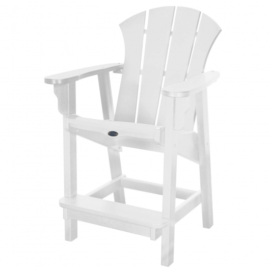 Sunrise Counter Height Chair - White