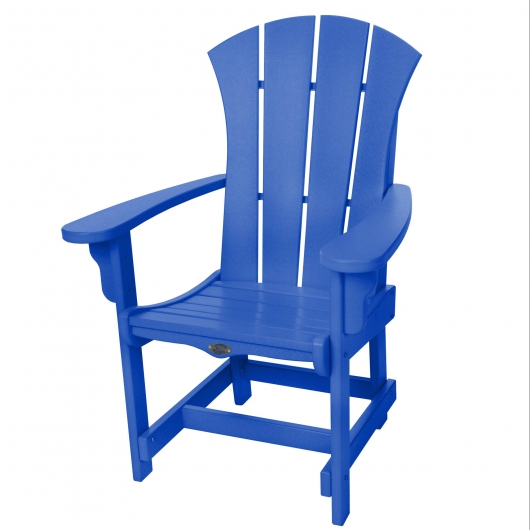 Sunrise Dining Chair with Arms - Blue