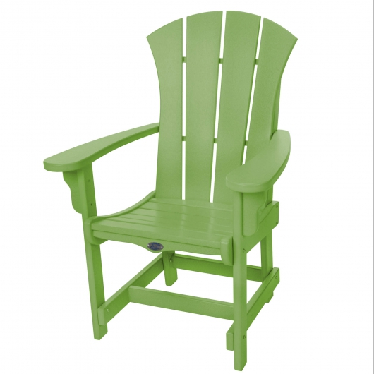 Sunrise Dining Chair with Arms - Lime