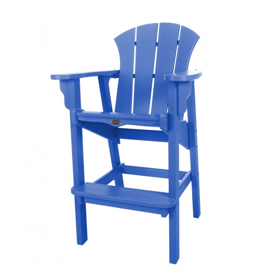 Sunrise High Dining Chair - Blue