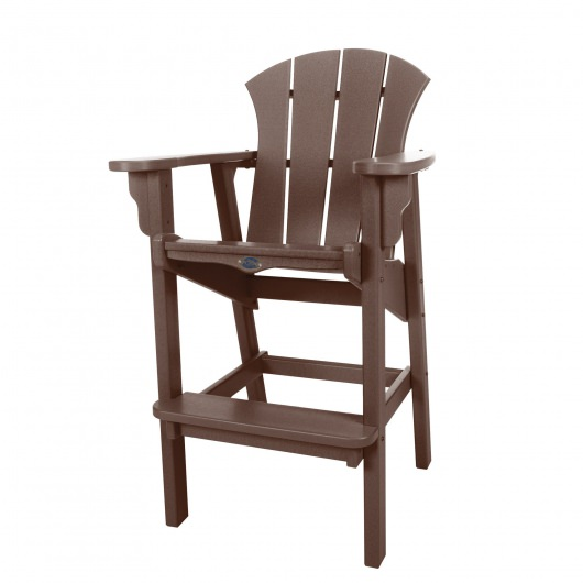 Sunrise High Dining Chair - Chocolate